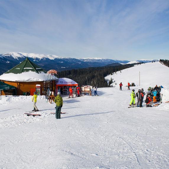 Зимовий Буковель