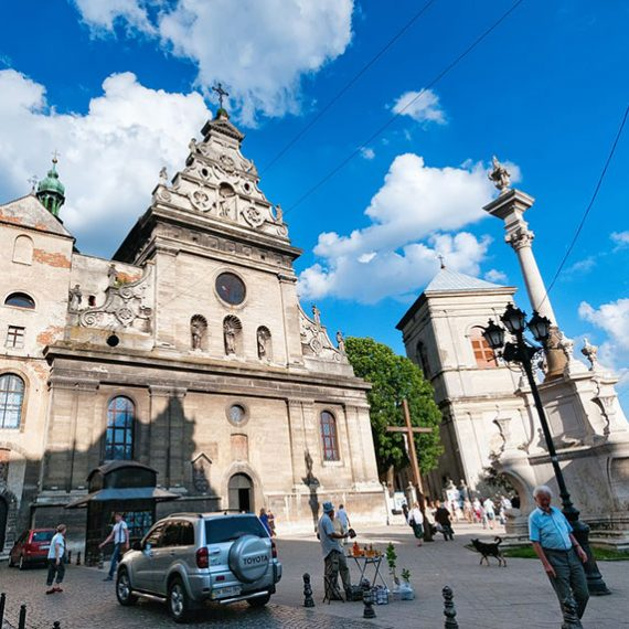 Костёл Св. Андрея во Львове