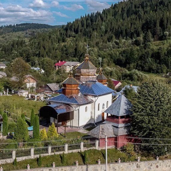 Николаевская церковь в Новом Кропивнике