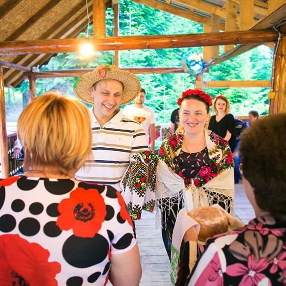 Бойковская свадьба в горах