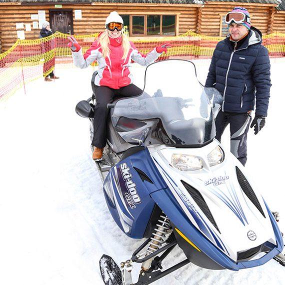 Зимове катання в Ворохті у Карпатах