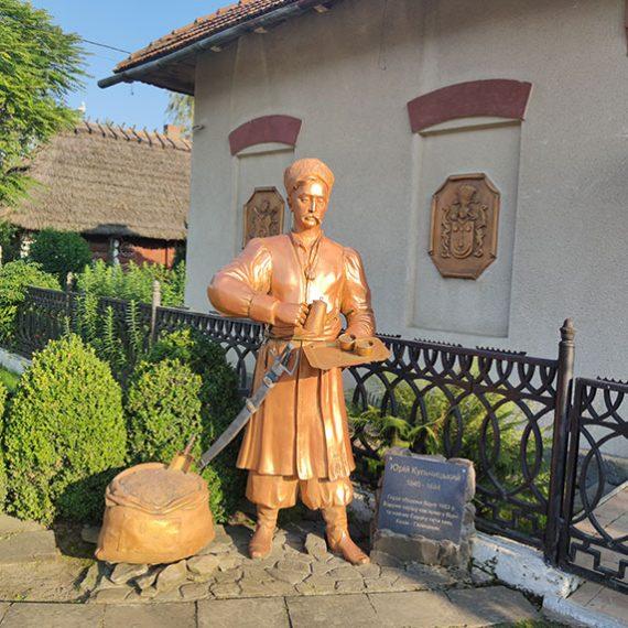 Краеведческий музей и кофейня в Кульчицах