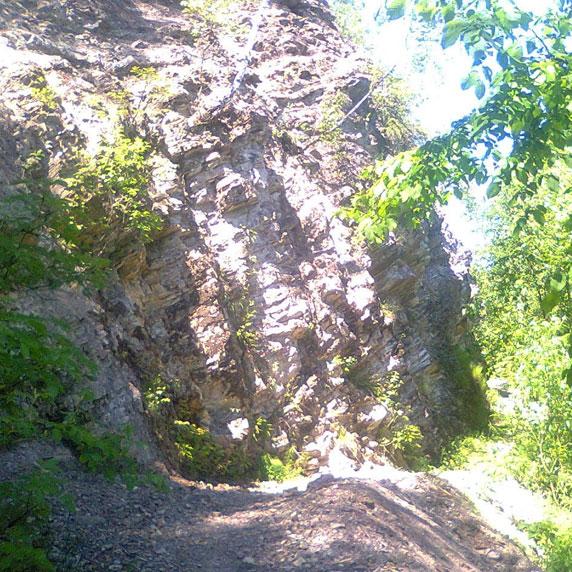 Гора Коньова в Карпатах
