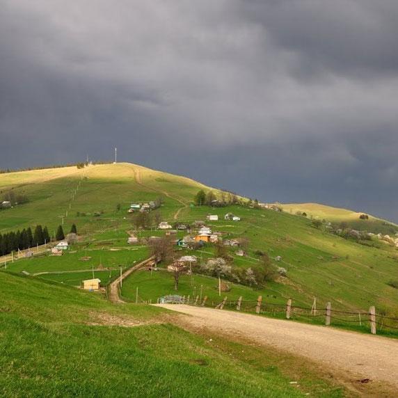 Сходження на гору Магура в Карпатах