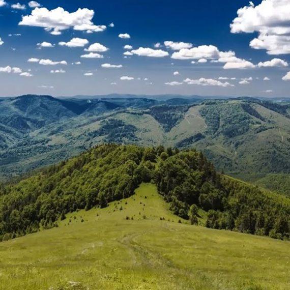 Гора Парашка в Карпатах