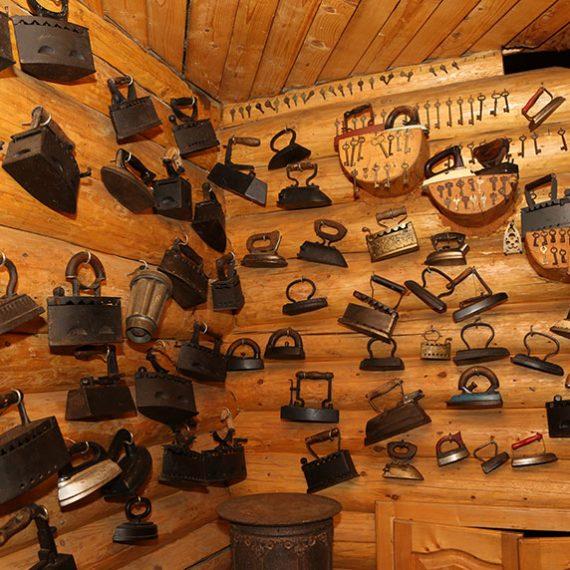 Колыба-музей в Рахове в Карпатах