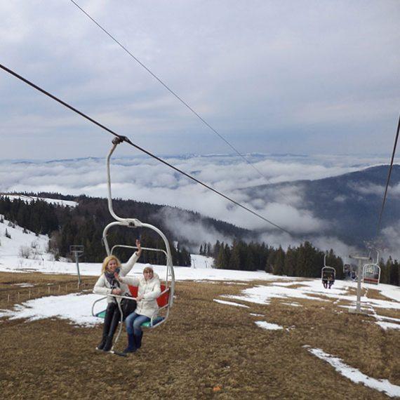 Гірськолижний курорт Славське в Карпатах