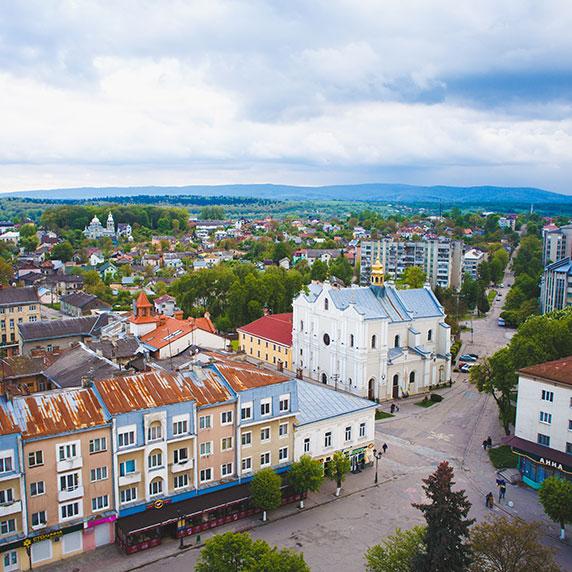 Панорама Дрогобыча