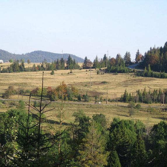Возле Ужокского перевала
