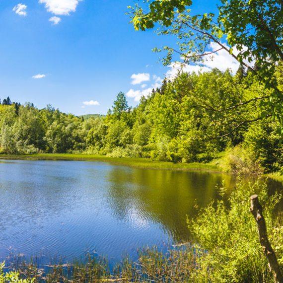 Мражницкое озеро в Карпатах